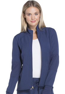 HeartSoul Stretchy Zip Front Warm-up Jacket - HS315 -Heartsoul