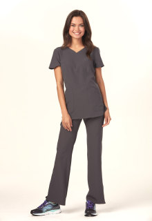 HS619 Mock Wrap Top-Heartsoul