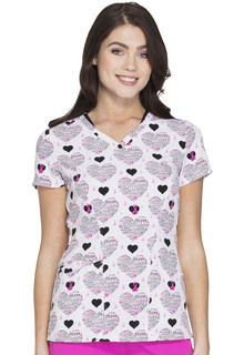 HS624 V-Neck Top-HeartSoul