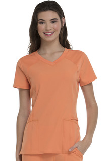 "HeartSoul ""Love 2 Love U"" V-Neck Scrub Top-HeartSoul"