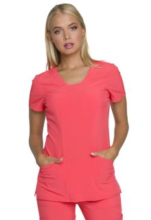 HS665 V-Neck Top-Heartsoul