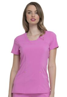 "HS665 ""Serenity"" V-Neck Top-HeartSoul"