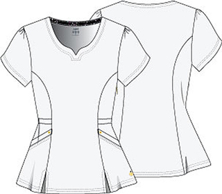 """Lovely"" V-Neck Top-HeartSoul"
