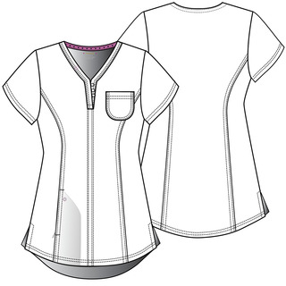 """Roxy"" V-Neck Top-Heartsoul"