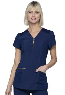 HS715 V-Neck Top-Heartsoul