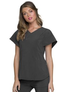 HS735 V-Neck Top-Heartsoul