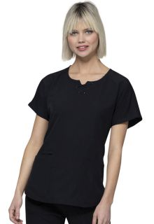 Heartsoul Break On Through Medical HS745 Round Neck Top-Heartsoul