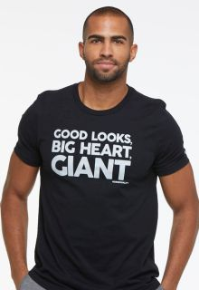 "DEAL - Men's Drop Shoulder Message Tee ""Good Looks, Big Heart, Giant Nurseonality""-"