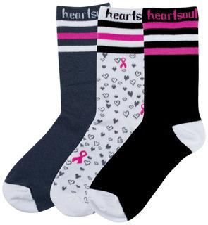 1-3pr packs of Crew Socks