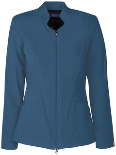 "Sapphire Medical Sapphire Luxury ""Melrose"" Notched Jacket-Sapphire"