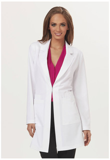 """Milan"" 34"" Lab Coat-"