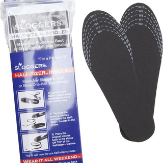 6pr pack of Slogger Half Sizers Insoles