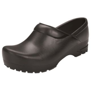 Closed Back Plastic Clog-Anywear