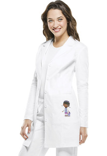 "Women's 33"" Print Lab Coat-Tooniforms"