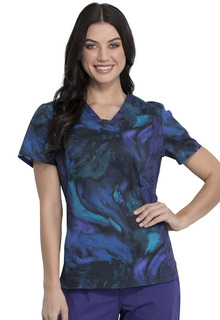 Tooniforms Top Medical Tooniforms TF531 V-Neck Top-Tooniforms