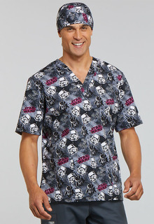Tooniforms Unisex V-Neck Scrub Top-