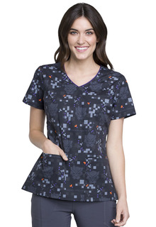 TF614 V-Neck Top-