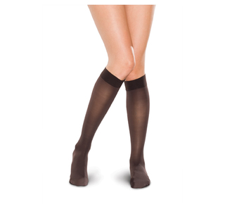 15-20 mmHg Knee High Sheer-