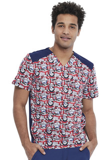 TF713 Mens V-Neck Top-Tooniforms