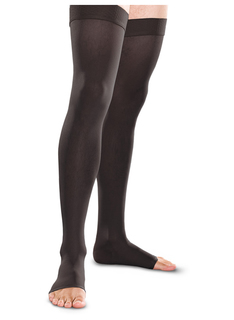 20-30 mmHg Thigh High Open Toe-