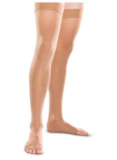 20-30 mmHg Thigh High Open Toe-Therafirm