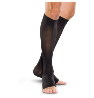 30-40 mmHg Knee-High Open Toe-Therafirm