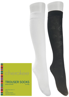 1-3 Pair Packs of Support Trouser Socks