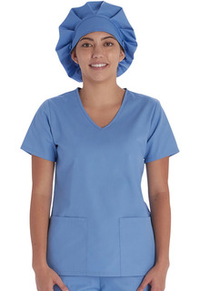DEAL - Unisex Bouffant Scrubs Hat | Solid Color Scrub Cap-Vital Threads