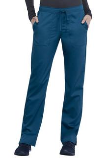 WW005 Mid Rise Straight Leg Drawstring Pant-Cherokee Workwear