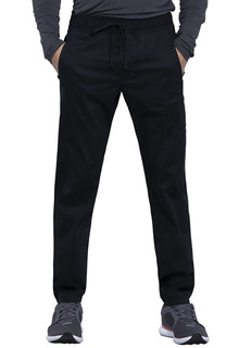 Mens Natural Rise Jogger-Cherokee Workwear