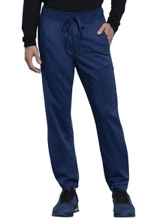 Mens Natural Rise Jogger-Cherokee Workwear