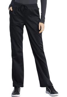 WW041AB Mid Rise Straight Leg Drawstring Pant-Cherokee Workwear