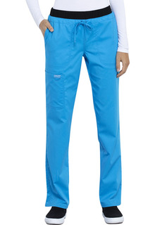 WW105 Mid Rise Tapered Leg Drawstring Pant-