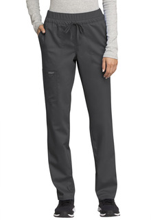 WW105 Mid Rise Tapered Leg Drawstring Pant-Cherokee Workwear