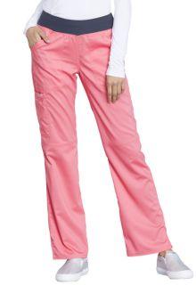 Mid Rise Straight Leg Pull-on Pant-Cherokee Workwear