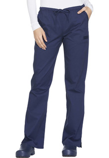Core Ladies Mid Rise Elastic/Draw Pant - WW130-Cherokee workwear