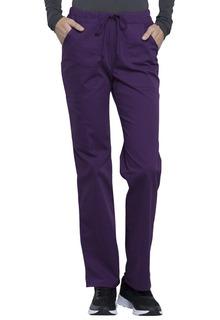 Mid Rise Straight Leg Drawstring Pant-Cherokee Workwear