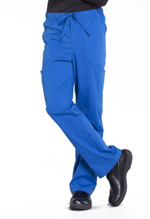 Mens Tapered Leg Drawstring Cargo Pant-Cherokee Workwear