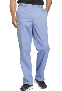 Cherokee Workwear Core stretch Mens Fly Front Scrub Pant-Cherokee Workwear