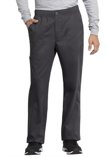 Tech Men's Mid Rise Straight Leg Zip Fly Pant - Antimicrobial w/Fluid Barrier-Cherokee Workwear