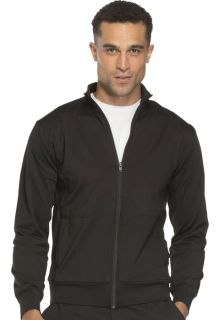 Unisex Zip Front Warm -up Knit Jacket-