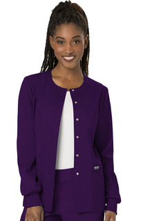 Revolution Snap Front Warm-up Women's Jacket by Cherokee