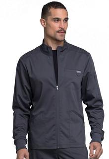 Revolution Men's 4 Pocket Zip Front Warm Up Scrub Jacket - Workwear WW320