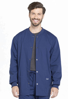 Mens Snap Front Jacket-Cherokee Workwear