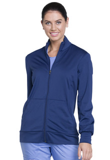 Unisex Zip Front Knit Jacket-