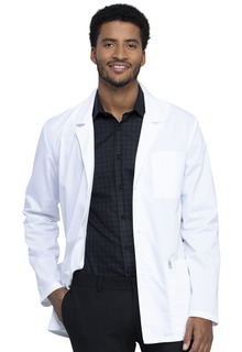 "Tech Men's 32"" Consultation Lab Coat - Antimicrobial w/Fluid Barrier-Cherokee Workwear"