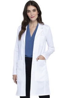 "Tech NEW Women's 36"" Lab Coat - Antimicrobial w/Fluid Barrier-Cherokee Workwear"