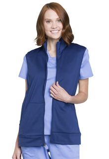 Z COMING SOON Revolution Unisex Zip Front Vest - WW520-Cherokee Workwear