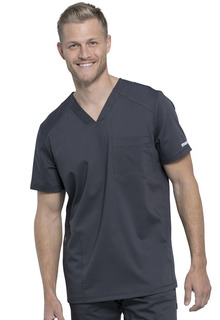 WW603 Mens V-Neck Top-Cherokee Workwear