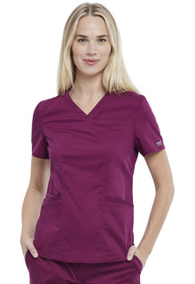 Revolution NEW Petite Scrub Top-Cherokee Workwear